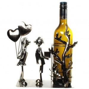 Flaschenhalter Liebespaar